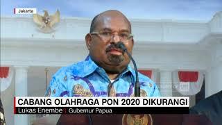Cabang Olah Raga PON 2020 Dikurangi