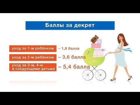 Перерасчет пенсий женщинам за детей