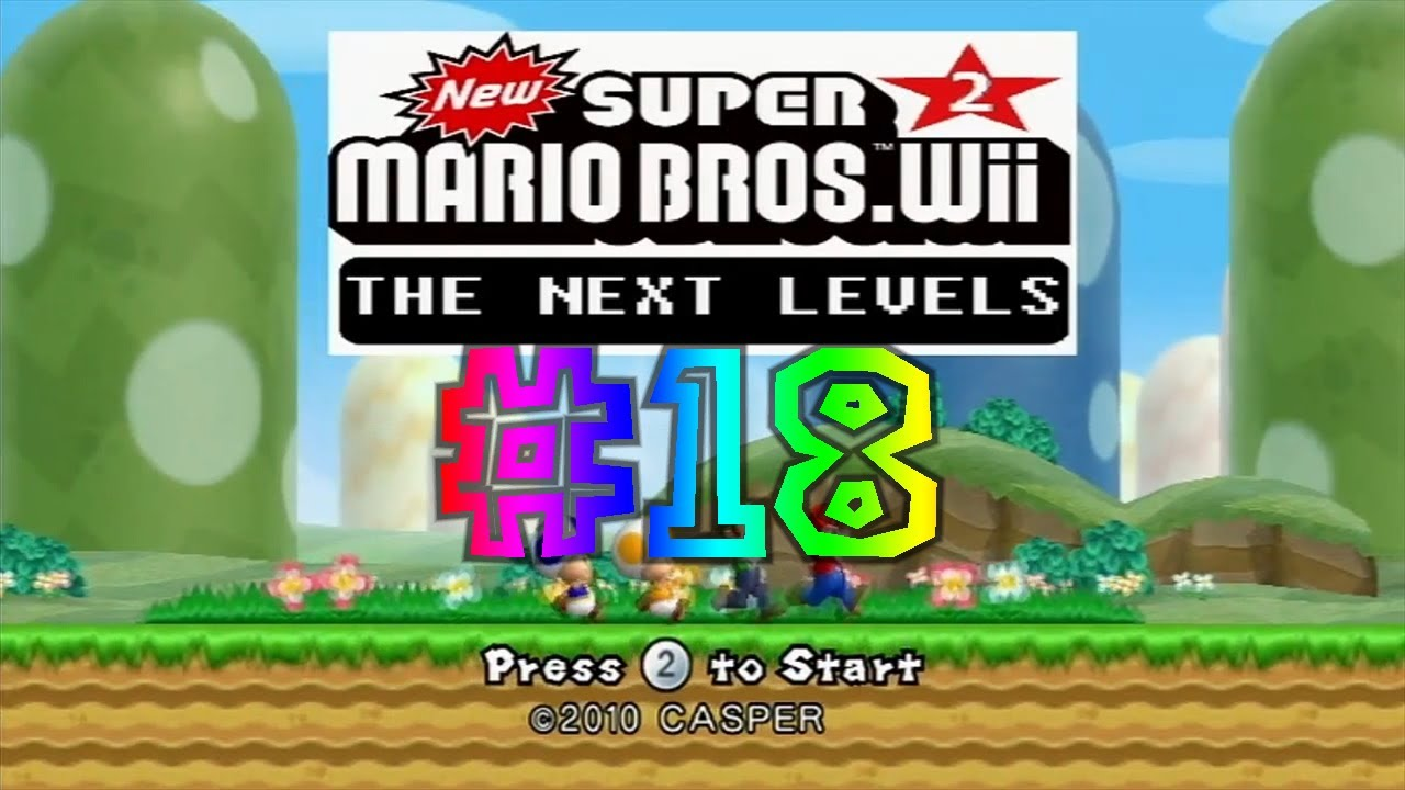 super mario bros 2 wii the next levels
