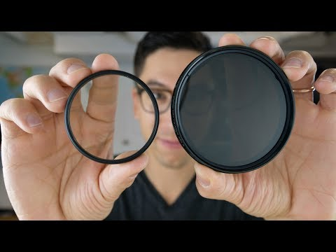 Photography camera lens filter basics