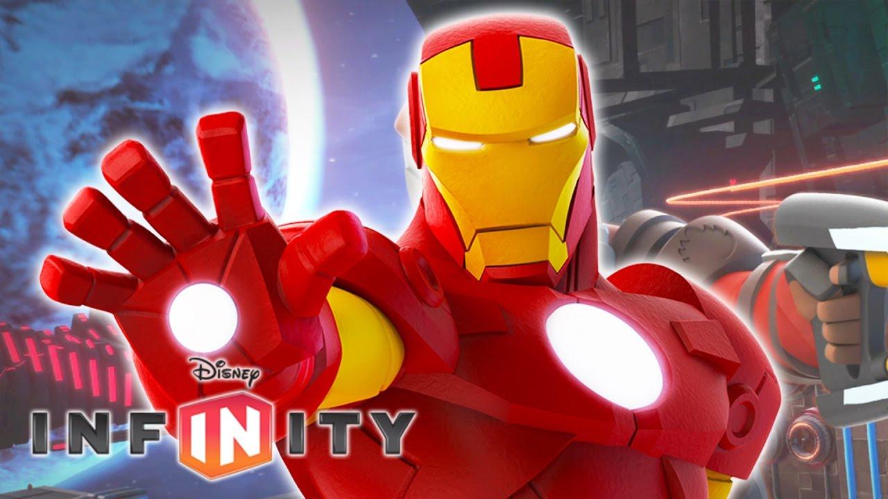 Iron man jeux vid o de dessin anim pour enfants en fran ais disney infinity 2 0 super h ros - Iron man en dessin anime ...
