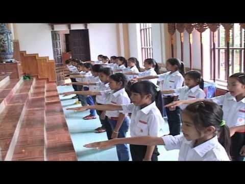 Thánh lễ thành lập Xứ Đoàn Gioan BaoTiXiTa TNTT GX Bảo Sơn