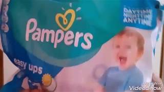 PAMPERS EASY UPS.