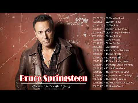 Bruce Springsteen Greatest Hits - Bruce Springsteen Best Of - Bruce Springsteen  Album 2020