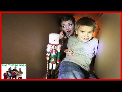 The Toy Collector Part 6 Exploring The Hello Neighbor Tunnels!/ That YouTub3 Family I Family Channel