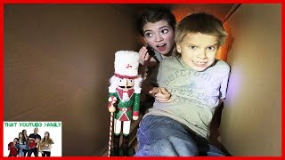 The Toy Collector Part 6 Exploring The Hello Neighbor Tunnels!/ That YouTub3 Family I Family Channel Video