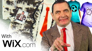 T-Shirt Making with Mr Bean! | Handy Bean | Mr Bean Official