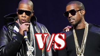 Kanye West VS Jay Z - Watch and tell who is better !