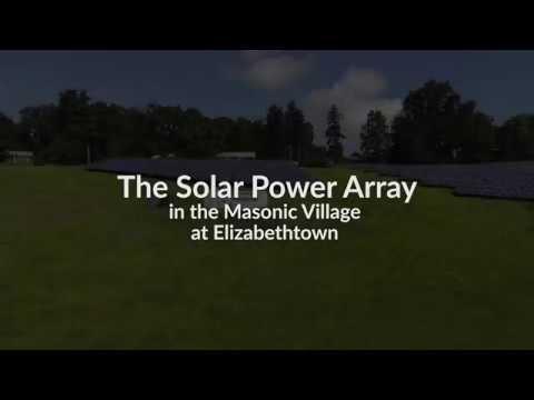 Masonic Village at Elizabethtown Solar Array