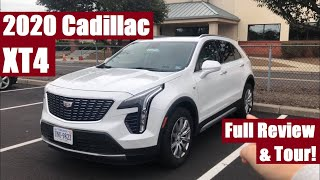 2020 Cadillac XT4 - Full Review & Tour (Surprisingly Functional!)