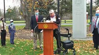 2020 Veterans Day Ceremony - Town of Clifton Park