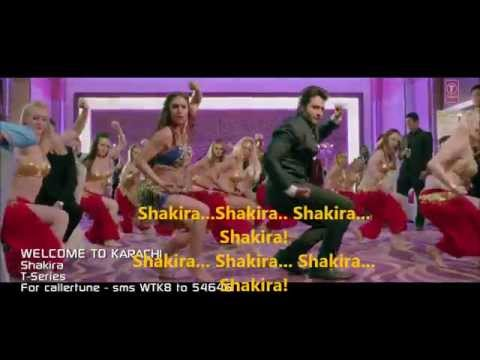 Shakira Welcome 2 Karachi Lyrics