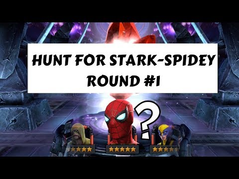 5-STAR CRYSTAL OPENING: HUNT FOR STARK-SPIDEY ROUND #1