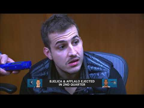 Timberwolves' Bjelica on ejection, scuffle with Orlando's Afflalo