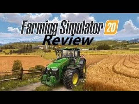Farming Simulator 20 Review and First Impressions Episode 1   Nintendo Switch