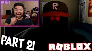 REACTING TO GUEST 666 PART 2!!! (Roblox Horror Story)