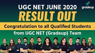 UGC NET Result 2020 Out!! Check your Result June 2020 Exam || Assistant Professor & JRF ||  UGC NET