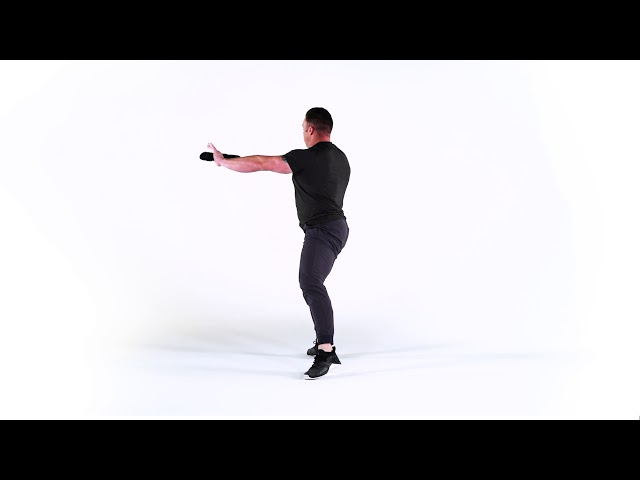ROTATIONAL REVERSE LUNGE & TURN