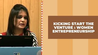 Kicking start the venture   Women