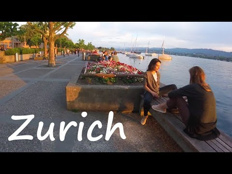 Experience Zurich, Switzerland & Beautiful Lake Zurich