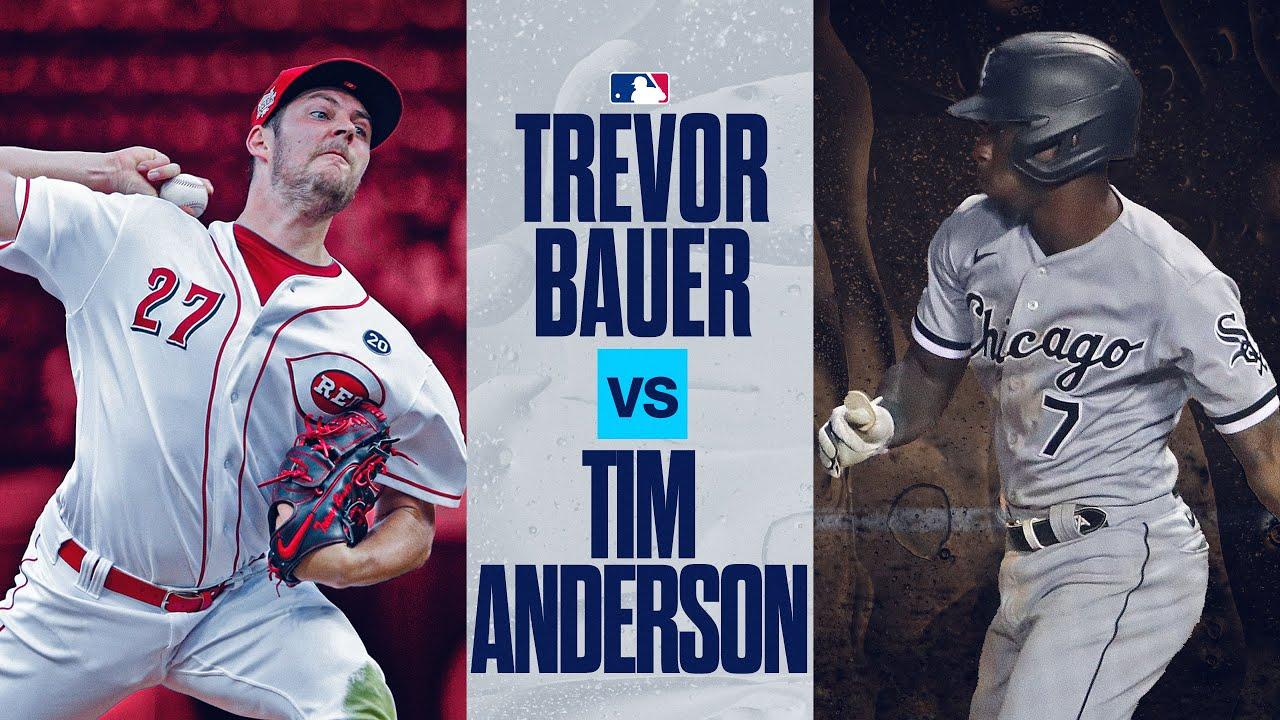 AL Batting Champ vs. NL Cy Young? Tim Anderson + Trevor Bauer show down in Cincinnati!