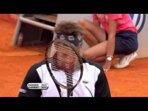 [Roger Federer] - peRFect Drop-shot [Estoril 2010]