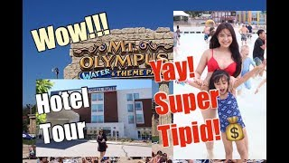 VLOG#51-SUPER TIPID!!!CHEAP FAMILY VACATION sa WISCONSIN DELLS!MT OLYMPUS HOTEL TOUR!!💗