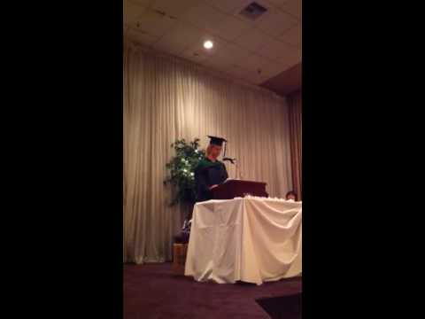 Valedictorian speech - acupuncture and massage college
