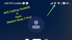 VoWifi Calling is here on Redmi Note 7 Pro (Miui 11.0.6.0)(Finally!!!!!!!)(Live Proof)