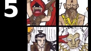 Diablo III Four Player Co-Op - Part 5 - Gilgamesh: The Big Guy (Act 1)