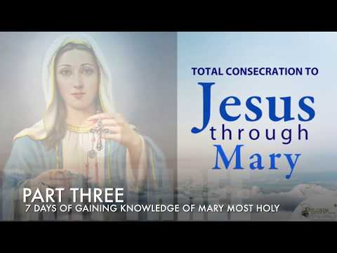 Part Three Prayers || Preparation for Consecration to Jesus Through Mary