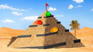TRICKY PYRAMID GOLF COURSE! (Golf It)