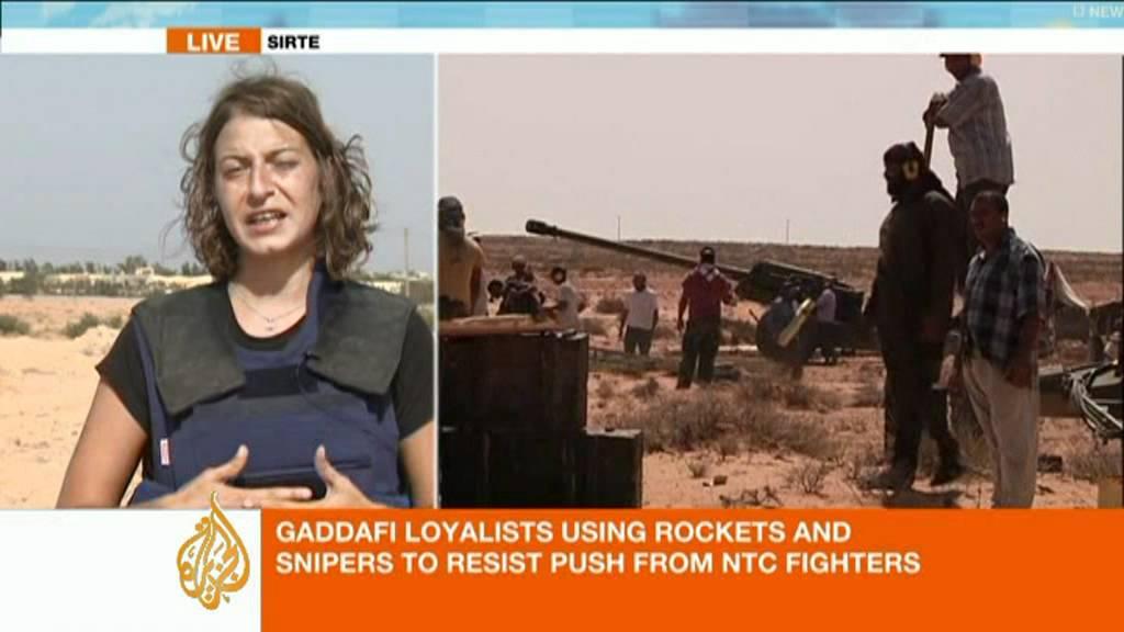 Zeina Khodr Reports From Outside Sirte Al Jazeera English