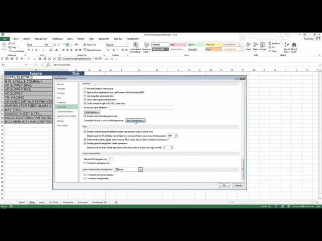 Excel Formulas and Functions - Webinar