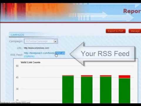 LinkClaw - Link Monitor & Backlinks RSS Feed Builder
