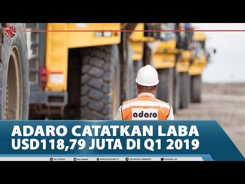 ADARO CATATKAN LABA USD118,79 JUTA DI Q1 2019