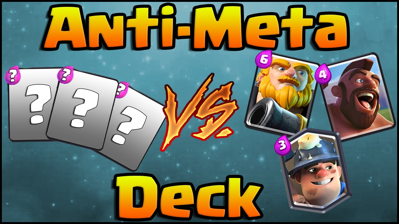 Clash Royale Anti Meta Deck And Strategy For Arena 5 6 7 8 9 Youtube