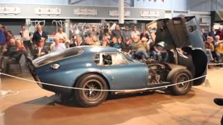 '1964 Shelby Cobra Daytona Coupe' Starting Up.