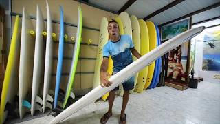 6 - BEGINNER SURFING - HOW TO SURF - SURF LIFE TENERIFE PILLS -  Types of Surfboards