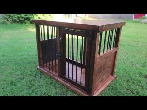 Diy Wooden Dog Crate You
