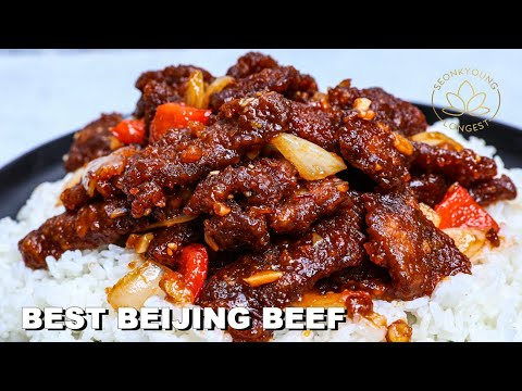 BEST Beijing Beef Recipe | Better than Panda Express Takeout at Home