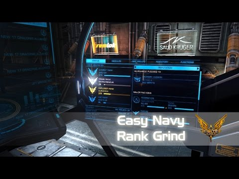 Quick and Easy Navy Ranking Tutorial - Federal and Imperial (Elite: Dangerous 1.5, 2.0 Horizons)