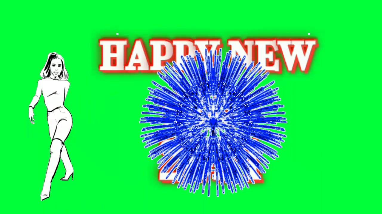 Happy New year 2021 Green Screen Video Effect / Love Green Screen Video Effect VFX Teelsingh YouTube
