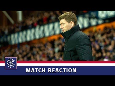 REACTION | Steven Gerrard | Rangers 5-0 Kilmarnock