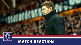 REACTION   Steven Gerrard   Rangers 5-0 Kilmarnock
