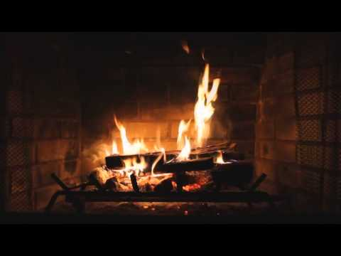 2 Hours Relaxing Classical Music with Gentle Rain & Fireplace (Romantic Music)