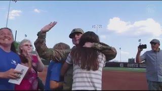 Local Soldier Surprises Family