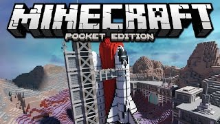 How To Go To SPACE in Minecraft Pocket Edition (Windows 10 Edition)