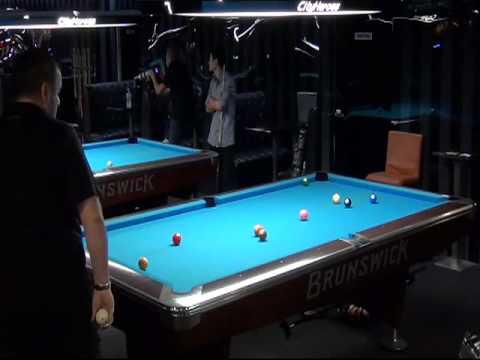 NSW State 9 Ball Semi Final - David Reljic vs Greg Jenkins