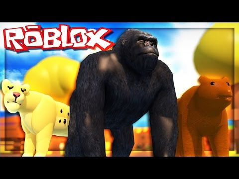 VISITING THE ROBLOX ZOO!